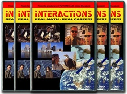 Interactions: Real Math-Real Careers Complete Series on DVD