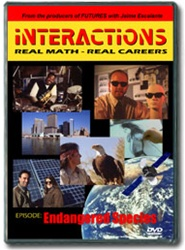 Interactions: Real Math-Real Careers ENDANGERED SPECIES DVD
