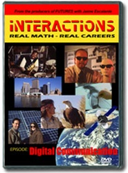 Interactions: Real Math-Real Careers DIGITAL COMMUNICATION DVD