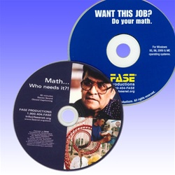Math... Who Needs It? DVD with Want This Job? CD-ROM!